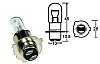 Bulb, Headlight, P15D-25-3 12v 35/35w, Halogen H6