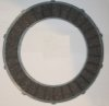 Clutch plate, friction, Ariel Panther, large Burman BAP and CP