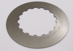 Clutch plate, plain steel, AJS Matchless, thick Burman 1936-56