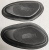 Knee pad rubbers, Triumph, for mounting plate, damaged