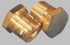 Top stanchion plugs, Norton Commando,alloy, UNF UK (pr)