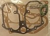 Gasket set, Velocette Venom, top end, engine