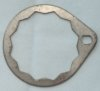 Gearbox axle sprocket locking plate, Norton