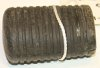 Gear change rubber, Villiers, oval, closed end