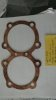 Gasket, cylinder head, copper, Triumph twin 10 stud