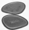 Knee pad rubbers, Norton 2 hole (pr) - read note