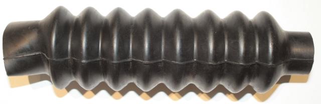 Gaiter, forks, Triumph, 8 rib, pre unit (pr) [EM509A] : BMH