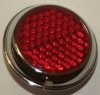 Reflector, Red, 1 1/2""