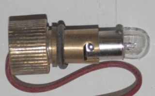 Bulb holder, chronometric speedometer