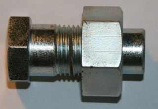 Bolt & nut, centre stand, Norton fbeds (ass)