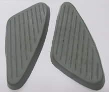 Knee pad rubbers, BSA A50/65, grey