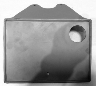 Number plate mount, rear, pre c1948 universal