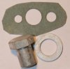 Nut, oil pipe to crankcase, Norton twins (set)