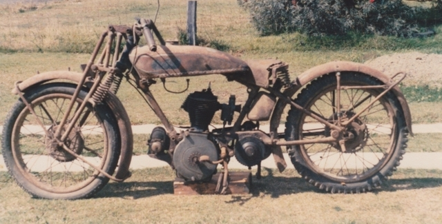 Norton 1929 as found