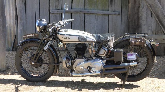 Norton 1929 on Tour