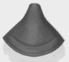 Saddle, small size with cover and springs