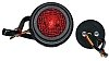 Tail light, 'vintage style' black, tail /stop light, 12v